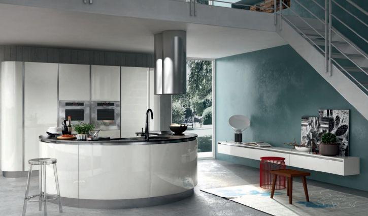 cuisine contemporaine. Black Bedroom Furniture Sets. Home Design Ideas